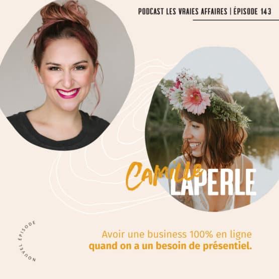 Entrevue avec Camille Laperle - Comment adapté son offre en ligne